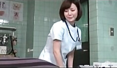 CFNM Japanese femdom nurse wasnt surprised by this woman we meet in the hospital