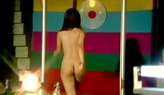Awesome art nude chinese female dancing
