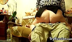 Amazing teen takes my loads while I film her with her step son