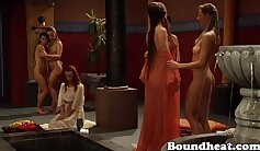 Awesome Lesbian Sensation and Hot Show