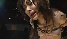 asian bride into metal bondage banged