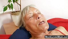 Chesty Mey Stacey with dildo fucks her hairy pussy