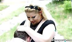 Chubby Hot Video with IWC Submissive domination