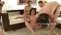 Athletic pornstar maid fucked hard