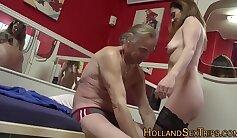 Cock Rides Good Mature Husband