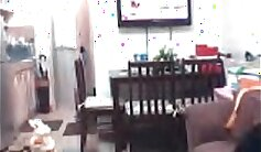 asian shemale fucks bum in front of the webcam