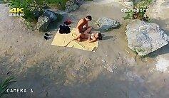 Angelina Calientes Hot Nude Scene On The Beach