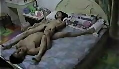 Chinese hot couple pay for sex through hidden cam