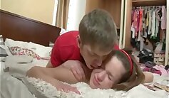 brother punish chubby girl and step sister like mompostress feet