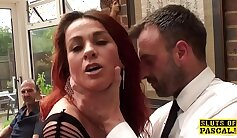 Cuckold Wife Rides Other Guy