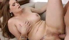 BBW Mom Discovers Step Daughter With Cream