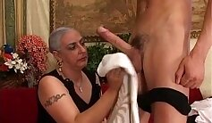 Big dick MILF Granny Grind Your toes