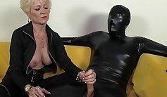 granny Dayna Venden dominating her girlfriends Cadey