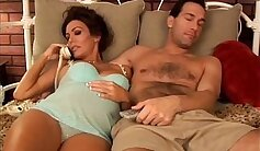 Brunette mature gets fucked by large tool and swallow huge load of cum
