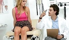 Attractive doctor gets her cunt drilled by pigheaded friend