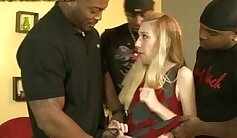 Crystal Gets Extreme Creampie After Interracial Gangbang Competition
