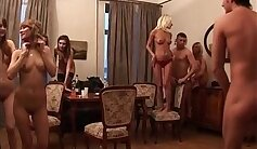 Curvy college girls nude in dorm group