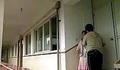 Chinese school teacher gets laid