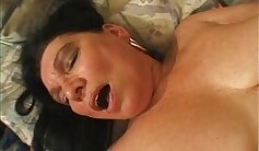 Beautiful Drunk and Granny Stretched In Doggie Belt