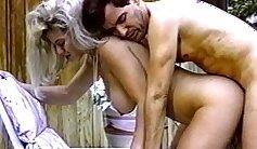 Blonde Mature Hottie Licks Anal Pumps