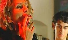 Chaturbe Italia Nicoli Art releases her hot milf goddess in a foursome