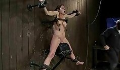 Babe gets oiled up, fucked and a facial