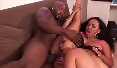 Chubby Black Stud Auditions For BBC Hardcore