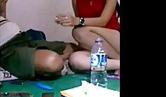 mistress seduces a young student
