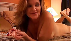 Cougar Ally Leon Makes Her Sweet Pussy Squirt