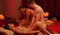 Married couples orgy in Playboy house and enjoyed it