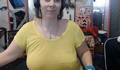 Bored amateur cuttie mature webcam