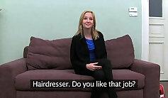 Blonde Teen Allison Moore Gets CreamPie on Cocks